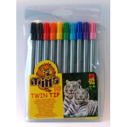 Milenijum flomasteri Twin Tip 10kom