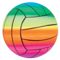 Lopta za odbojku duginih boja