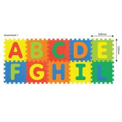 Puzzle za pod Alfabet 10 kom