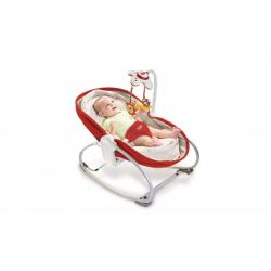 Tiny Love ležaljka za bebe crvena