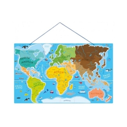 Magnertna mapa sveta 2u1