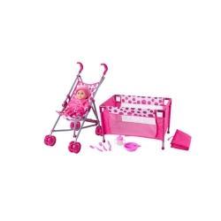 Set za lutke (kolica, krevetac..) 8591864918577