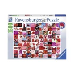 Ravensburger puzzle (slagalice)- 99 crvenih lepih stvari 4005556162154