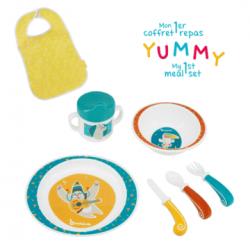 Babymoov set za ručavanje Yummy Plavi