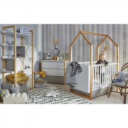 Bellamy drveni krevetac 70x140 Pinette