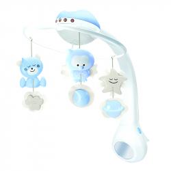 Infantino 3u1  muzička vrteška Blue