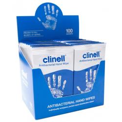 Clinell antibakterijske maramice za ruke 100 komada