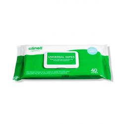 Cllinel univerzalne maramice za dezinfekciju 40 kom