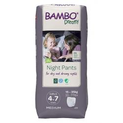 Bambo Dreamy Night Pants 4-7y Girl 15-35kg