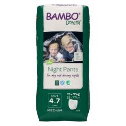 Bambo Dreamy Night Pants 4-7y Boy 15-35kg