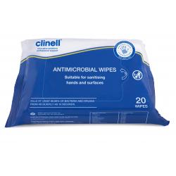Clinell antimikrobne maramice  20