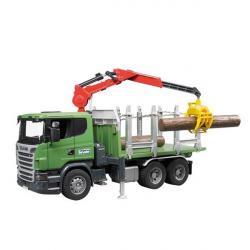 Kamion Scania za prevoz drva