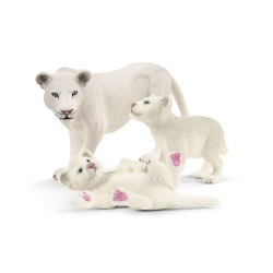 Schleich Porodica belih lavova