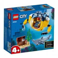 Lego City 60263 Okeanska mini podmornica