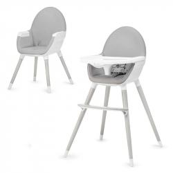 Kinderkraft stolica za hranjenje Fini nogare Grey
