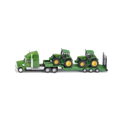 Kamion nosač dva traktora John Deere