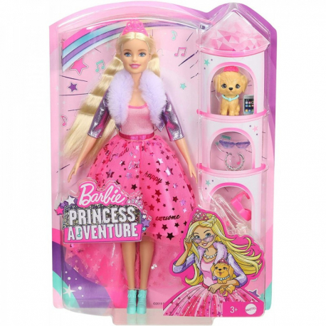 Barbie avantura Princeza Delux