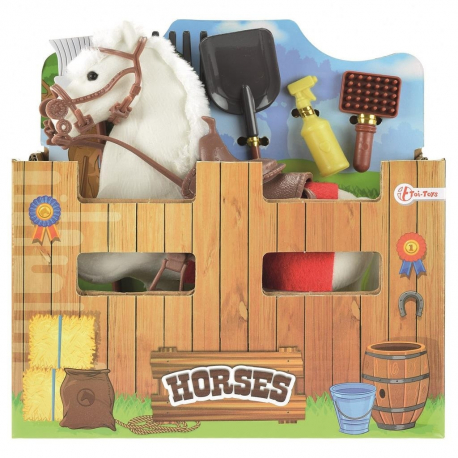 Konj beli sa dodacima za stalu 06222A