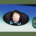 Clippasafe pomoćni retrovizor za auto sedište