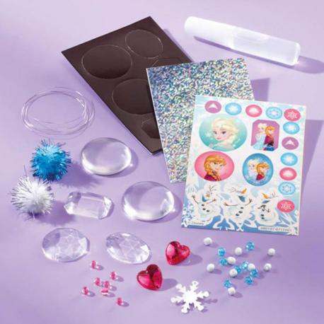 Frozen glitter set za pravljenje magneta