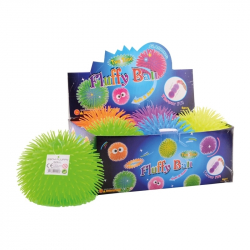 Lopta cupava Fluffy ball 8cm 3ASS display 24pcs