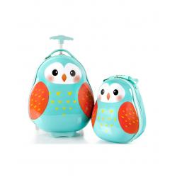 Heys Kids dečiji kofer i ranac Owl