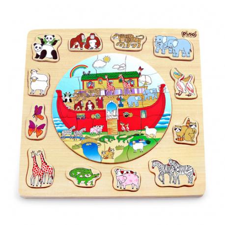 Slagalica-umetaljka Nojeva barka