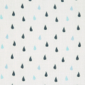 Lässig tetra pelene 3/1 Heavenly Soft L Little 80x80 Water Whale Blue