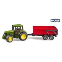 Bruder traktor JD 6920 sa prikolicom Crveni