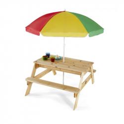 Plum pravougaoni sto za piknik Natur