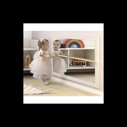 Ros nisko zidno ogledalo za gimnastiku Montessori