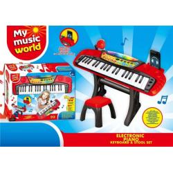 Piano sa stolicom I mikrofonom