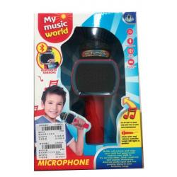 Mikrofon sa zvukom i svetlom