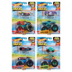 Hot Wheels monster Trucks + autic gratis