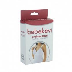 Bebekevi majica za dojilje Bela BEVI730