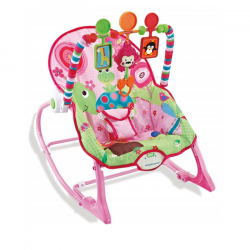 NouNou ležaljka za bebe 0-18kg Pink