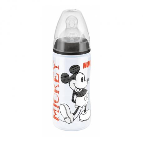 Nuk plastična flašica silikon 6-18 m Mickey Miki