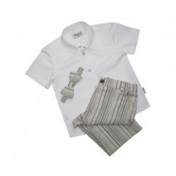 Deciji komplet kratke pantalone,kosulja masna