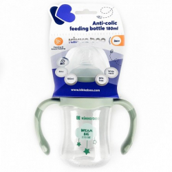 Flašica anti-colic sa rucicama 180ml mint Cloud