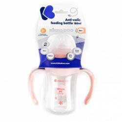 Flašica anti-colic sa rucicama 180ml peach Cloud