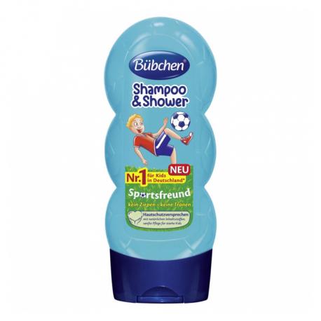 Bubchen deciji šampon za kosu i tuširanje Sportsfan