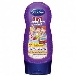 Bubchen dečiji šampon za kosu i tuširanje frecse zwerge