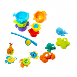 Oxybul igracke za kupanje 15 komada