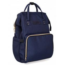 KikkaBoo torba za mame Siena Navy