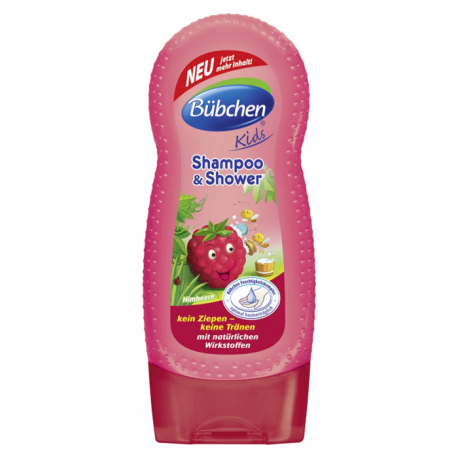 Bubchen dečiji šampon za kosu i tuširanje malina