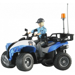 Motor Quad policajski sa policajkom