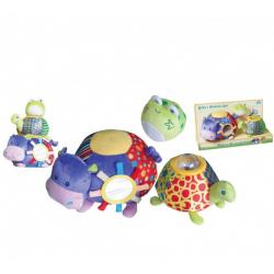 Plišana igračka slagalica za bebe – Veseli drugari