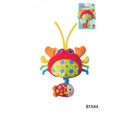 Parkfield muzička plišana igračka za bebe – Rak pkf-81544
