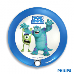 Philips zidna lampa Monsters university