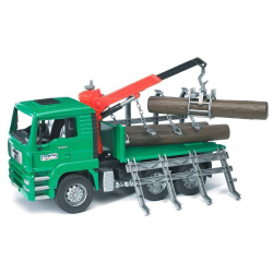 Kamion MAN sa drvima